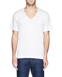Sunspel Superfine Cotton Undershirt - Lyst