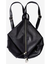 Express - Long Zip Backpack - Lyst