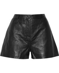 Elizabeth And James Alistaire Leather Shorts - Lyst