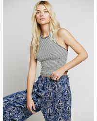 We The Free By Free People Striped Tank - Lyst