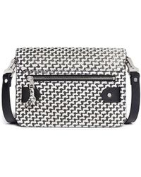 Proenza Schouler Ps11 Mini Tweed Print Leather Bag - Lyst