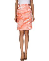 Mother Of Pearl Knee Length Skirt - Lyst