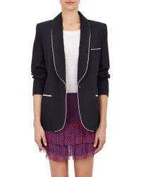 Etoile Isabel Marant Textured-stripe Lana Jacket - Lyst