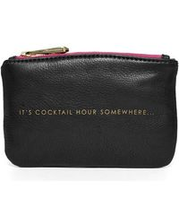 hayden-harnett - 'cocktail Hour' Leather Pouch - Lyst