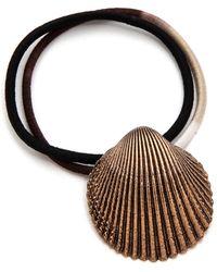 Pluie - Shell Hair Tie - Lyst