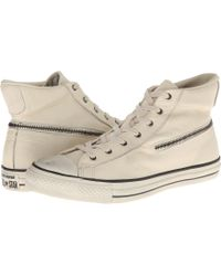 Converse Chuck Taylor All Star Zip Hi Tumbled Goat - Lyst