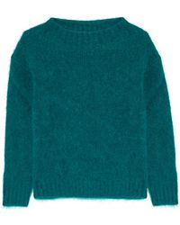Burberry Brit - Mohair-blend Jumper - Lyst