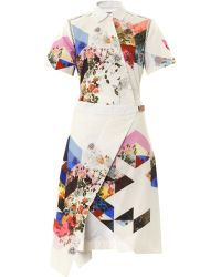 Preen Celeste Printed Shirt Dress - Lyst