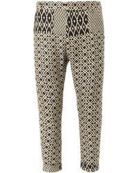 Haider Ackermann Montalo Multi Weave Trousers - Lyst