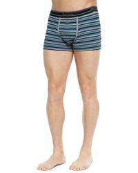 Paul Smith Striped Low-rise Boxer Briefs - Lyst