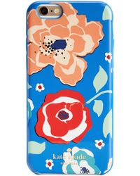 Kate Spade April Multi Floral Iphone 6 Resin Case - Lyst