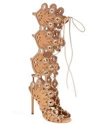Ivy Kirzhner - 'cannes' Lace-up Sandal - Lyst