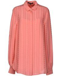 Gucci Pink Shirt - Lyst
