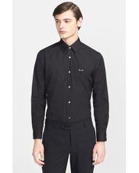 Comme des Garçons Trim Fit Cotton Oxford Shirt - Lyst