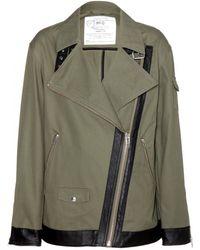 McQ by Alexander McQueen Cotton Jacket - Lyst