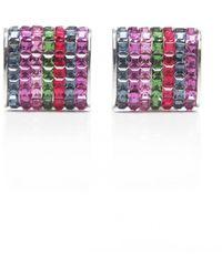 Duchamp Seven Stripe Cufflinks - Lyst