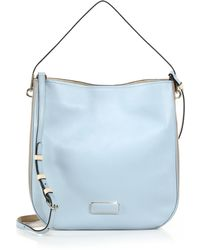 Marc By Marc Jacobs Ligero Two-Tone Leather Hobo Bag - Lyst