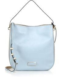 Marc By Marc Jacobs Ligero Bicolor Hobo Bag blue - Lyst
