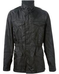 Bottega Veneta Intrecciato Print Jacket - Lyst