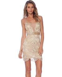 Raga Embellished Mini Dress - Lyst