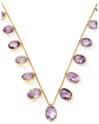 Doyle & Doyle Victorian Amethyst Necklace - Lyst