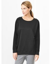 Gap Fit Knit Pullover - Lyst