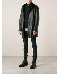 CoSTUME NATIONAL - Zip Coat - Lyst