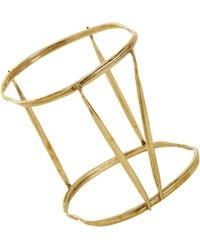 K/ller Collection - Brass Quill Cage Bangle - Lyst