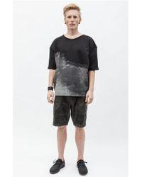 Blankblank Short Sleeved Cloud Sweatshirt - Mens - Lyst