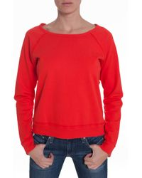 Textile Elizabeth And James Patched Perfect Sweatshirt - Lyst