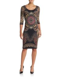Etro Paisley Chain-Print Dress - Lyst
