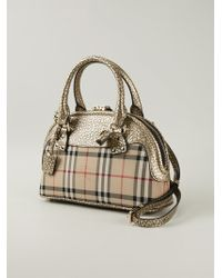 Burberry Small Bloomsbury Bowling Bag - Lyst