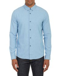 A.P.C. Chambray Shirt - Lyst