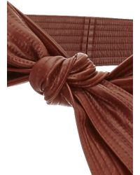 TOME - Whiskey Leather Karate Belt - Lyst