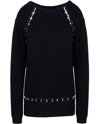 Mugler Long Sleeve Sweater - Lyst