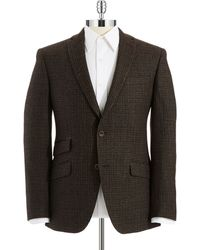 Ted Baker Checkered Blazer - Lyst