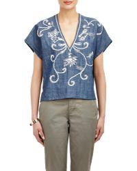 Banjanan - Hand-embroidered Tara Shirt - Lyst