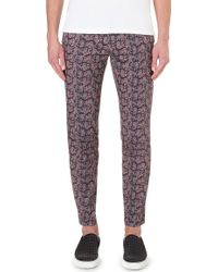 Paul Smith Paisley Trousers - For Men - Lyst