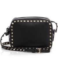 Valentino Rockstud Camera Bag - Lyst