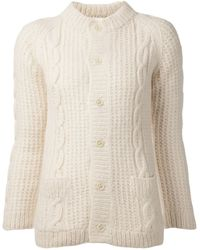 Dosa Cable Knit Cardigan - Lyst