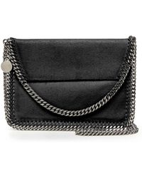Stella McCartney Falabella Mini Flap Shoulder Bag - Lyst