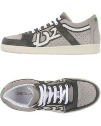 DSquared²   gray Low-tops & Trainers   Lyst