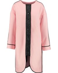 Sonia by Sonia Rykiel - Reversible Wool-blend Coat - Lyst