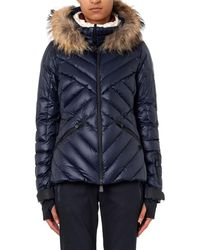 Moncler Grenoble Makalu Fur-trimmed Quilted Down Jacket - Lyst