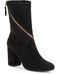 Vince Camuto Signature - Zip-Around Suede High Ankle Boots - Lyst
