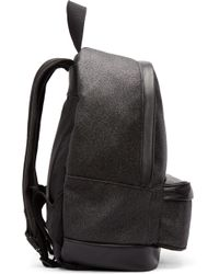 Palm Angels - Black Shimmering Backpack - Lyst