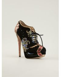 Charlotte Olympia Orient Express Ankle Boots - Lyst