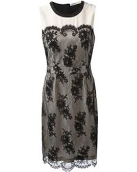 Clements Ribeiro - Frida Lace Shift Dress - Lyst