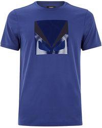 Fendi Monster T-Shirt - Lyst
