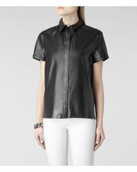 AllSaints Lorens Shirt - Lyst